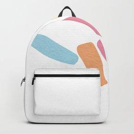 Shaka Hang Loose Abstract Hand Sign Backpack