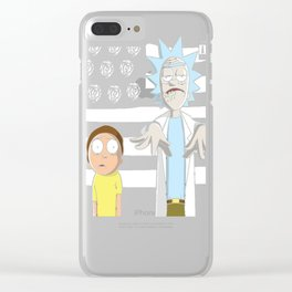 So Schwifty, So Clean Clear iPhone Case