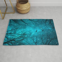 Stars Can't Shine Without Darkness Rug