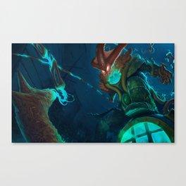Deep Terror Thresh League Of Legends Canvas Print