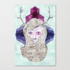Hair Mask Canvas Print