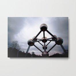 Atomium Metal Print
