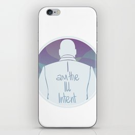 Ill Intent iPhone Skin