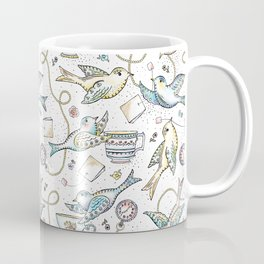 Twittering Tea Party Coffee Mug