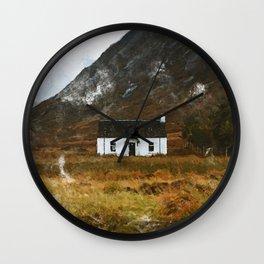 Glencoe Scotland Wall Clock