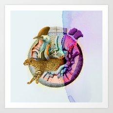 Felis intensus Art Print
