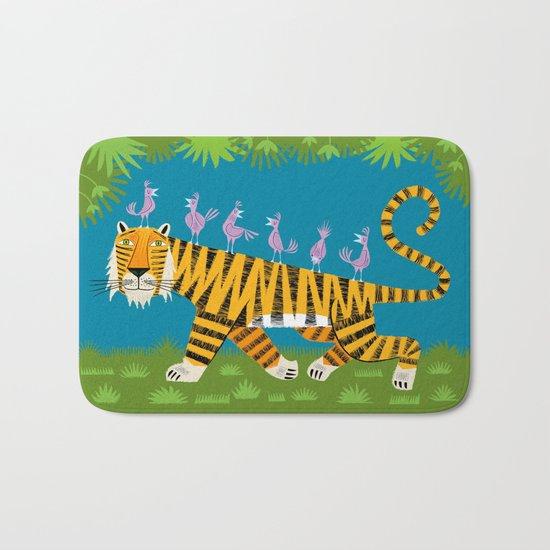 Tiger Transportation Bath Mat
