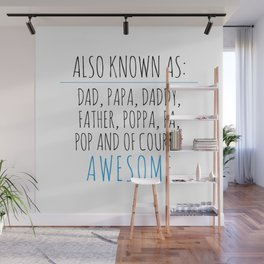 Awesome Dad Wall Mural
