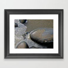 Stone Islands Framed Art Print