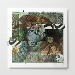 51 DM Collage Metal Print
