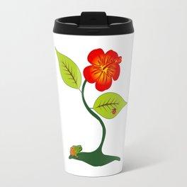 Plant and flower Travel Mug