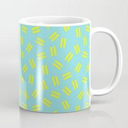 Postmodern Ants in Minty Aqua Coffee Mug