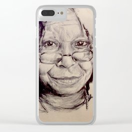 Whoopi Clear iPhone Case