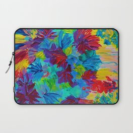 TUTTI FRUTTI - Fruit Punch Floral Bouquet Flowers Bright Bold Colorful Painting Romantic Rainbow Laptop Sleeve