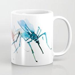 Mosquitoes / Abstract animal portrait. Coffee Mug