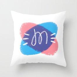 ~M~ Throw Pillow