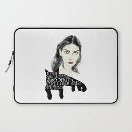 In the world of purrr Laptop Sleeve