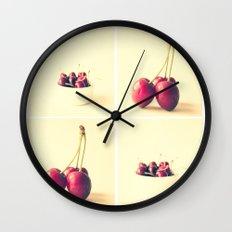 Cherry Kitchen Art  Wall Clock