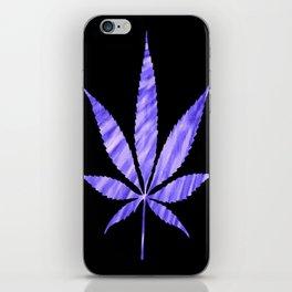 Weed : High Times Purple Blue iPhone Skin
