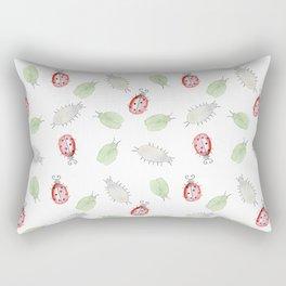 Bug rush Rectangular Pillow