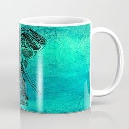 Decorated Indian Elephant Asian Elephant Art Coffee Mug