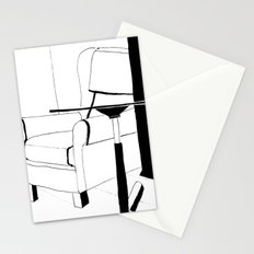 Black and white interior Stationery Cards
