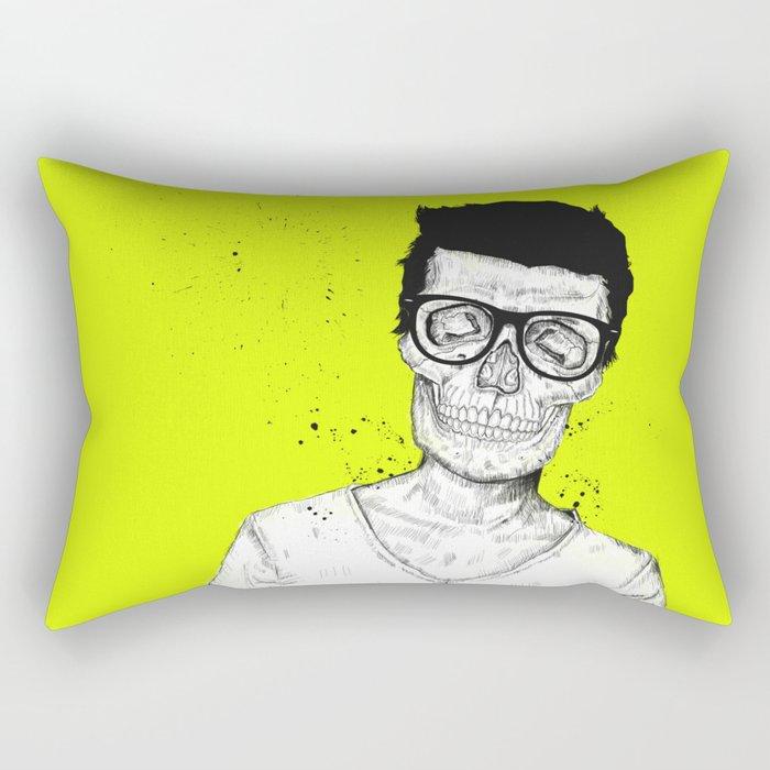 hipsters not dead Rectangular Pillow