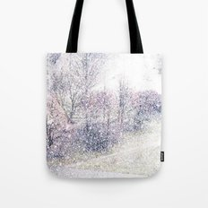 Snow in early fall(2). Tote Bag