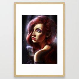Jessica Rabbit Framed Art Print