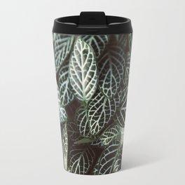 Botanical Gardens Zebra Leaf #398 Travel Mug