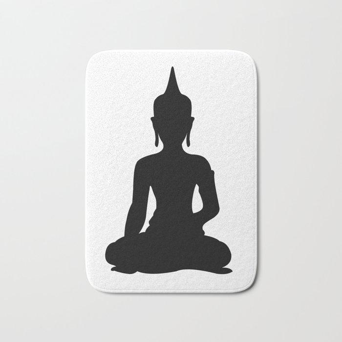 Simple Buddha Bath Mat