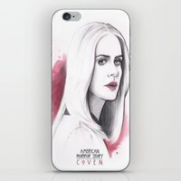 coven iPhone & iPod Skins featuring Cordelia Foxx art design by Dominique's photos