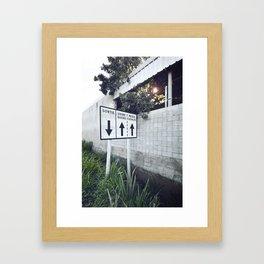 Usine Sucre Framed Art Print