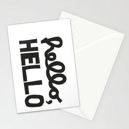 HELLO, HELLO  Stationery Cards