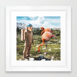 Alternate Reality Framed Art Print