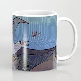 Trapped Seagull  - Clean the Beach Coffee Mug