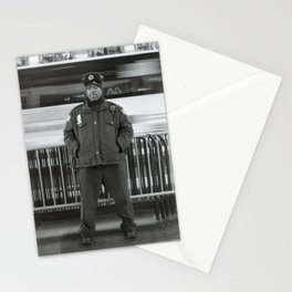 Times Square NYPD Stationery Cards
