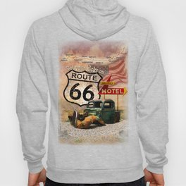 Get your Kicks on Route 66 Hoody