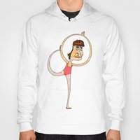 dancer Hoodies featuring Dancer by Mimi