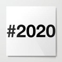 2020 Metal Print