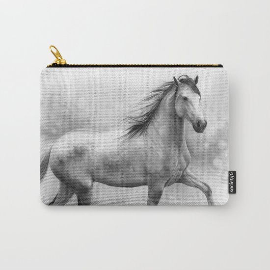 Horse II - pencil drawing Carry-All Pouch
