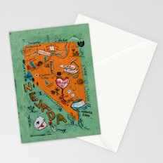 NEVADA Stationery Cards