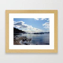 View from Ingaro Beach Framed Art Print