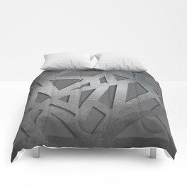 Metal Engraved Geometric pattern Comforters