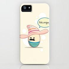 Moustache Egg Slim Case iPhone (5, 5s)