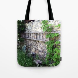 Swiss Barn and Ladder Tote Bag