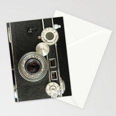 Vintage Range finder camera. Stationery Cards