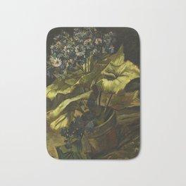 Cineraria by Vincent van Gogh Bath Mat