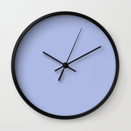 Elegant Lavender Pastel Purple Solid Color PPG 2021 Trending Hue French Lilac PPG1246-4 Wall Clock