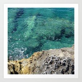 Adriatic Art Print